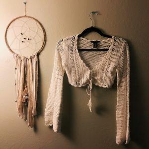 •Crochet bolero•
